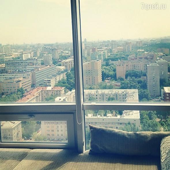 Вид из окна москва фото