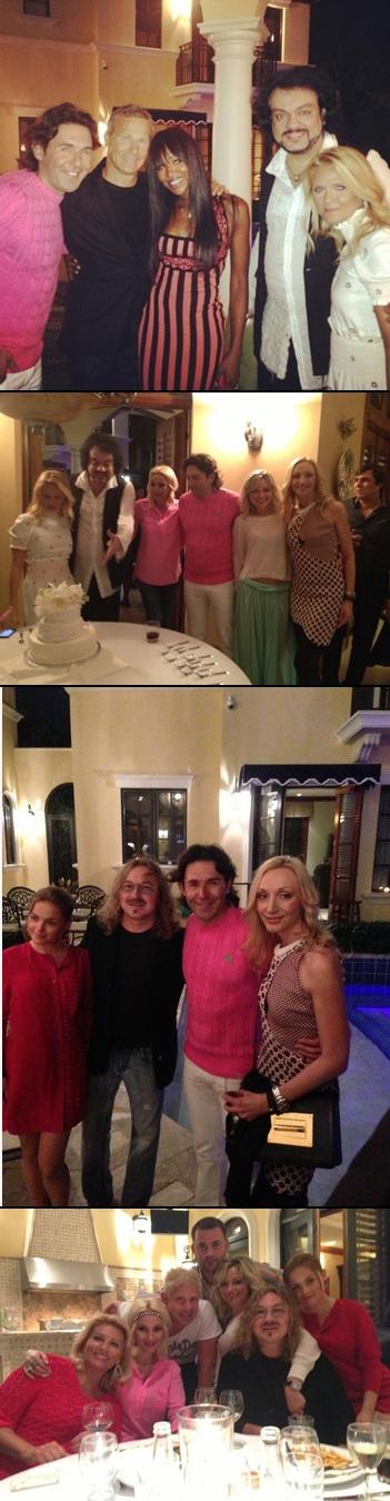 Фото: Первые фото с Дня рождения Андрея Малахова в Майями