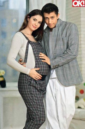 Агата и паша беременна