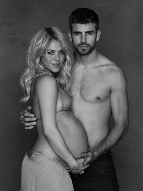 Фото: Открытая сессия Шакиры перед родами