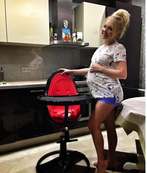 Фото беременной даши пынзарь