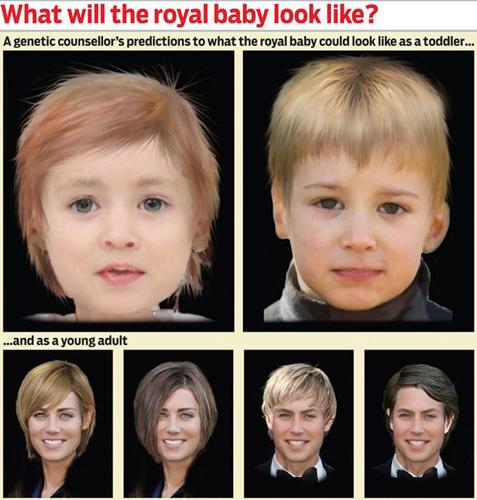 как ребенок будет выглядеть по фото родителей