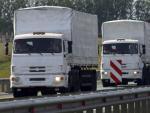 Часть гуманитарного конвоя из России уже прибыла в Донецк